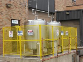 Stainless Holding Tanks / Safety Fencing