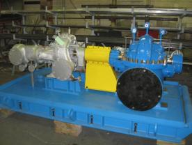 Fabricated Pump Skid